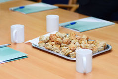 Cakes on the table Stock Images