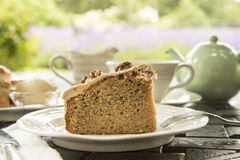 Cakes and tea Stock Image