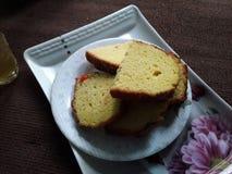 Cakes tijdens regenachtige seizoenen stock foto