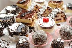 Cakes tiramisu. Stock Images