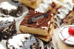 Cakes tiramisu. Stock Photos