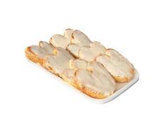Cakes on the tray Royalty Free Stock Photo