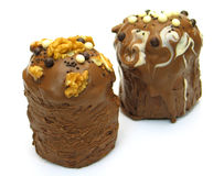 cakes två royaltyfri bild