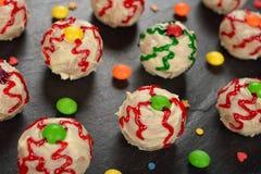 Cakes voor Halloween Stock Foto