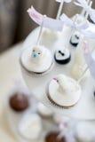 Cakes on the wedding Stock Photos