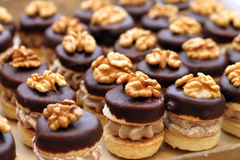 Free Cakes With Nuts Royalty Free Stock Photography - 47397057