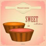 cakesfrukt Royaltyfri Foto