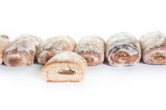 cakesfrukter Arkivbild