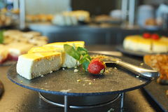 cakeskivor Royaltyfri Fotografi