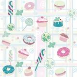 Cakespatroon Royalty-vrije Stock Afbeeldingen