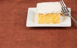 cakestycke Arkivfoton