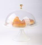 caketribune met cakes op een backgeound Royalty-vrije Stock Afbeeldingen