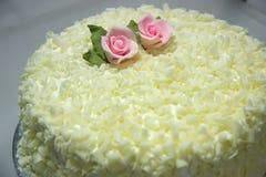 cakevanilj royaltyfri bild
