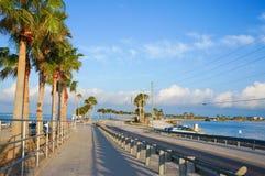 Calçada de Dunedin, Florida, EUA imagens de stock