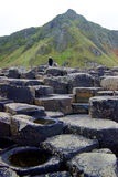 Calçada Irlanda do Norte 1 de Giants Foto de Stock