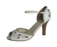 Calçados da mulher da forma Imagem de Stock