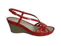 Calçados da mulher da forma Fotografia de Stock