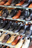 Calçados dos homens Fotos de Stock Royalty Free