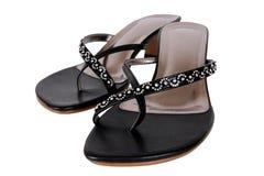Calçados elegantes das senhoras Imagem de Stock Royalty Free