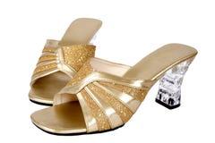 Calçados elegantes das senhoras Fotos de Stock Royalty Free