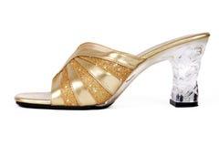 Calçados elegantes das senhoras Fotografia de Stock