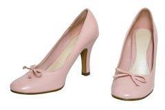 Calçados fêmeas. Fotos de Stock