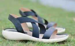 Calçados fêmeas Foto de Stock Royalty Free