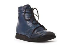 Calçados ortopédicos do miúdo Fotografia de Stock