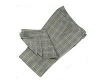 Calças Checkered fotografia de stock