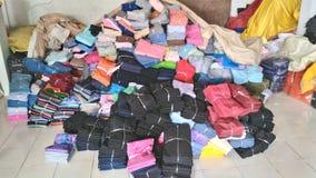 Calças da pilha Imagens de Stock