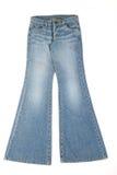 Calças das calças de brim Imagens de Stock