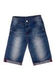 Calças das calças de brim Fotografia de Stock