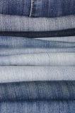 Calças das calças de brim Foto de Stock Royalty Free