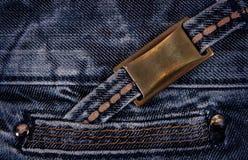 Calças de brim Imagem de Stock