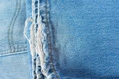 Calças de brim da pilha Fotografia de Stock