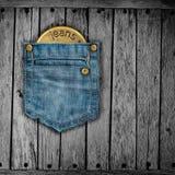 calças de brim da textura Imagens de Stock Royalty Free