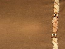 Calças de brim de Brown imagens de stock