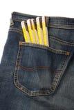 Calças de brim e ferramentas 3 Foto de Stock Royalty Free