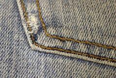 Calças de brim na moda da forma Imagem de Stock