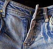 Calças de brim velhas Fotografia de Stock