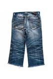 Calças de calças de ganga isoladas Imagens de Stock Royalty Free