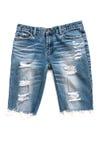 Calças de calças de ganga isoladas Foto de Stock
