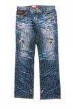 Calças de calças de ganga isoladas Imagem de Stock Royalty Free