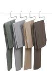 Calças de suspensão fotografia de stock