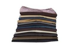 Pilha das calças imagem de stock royalty free