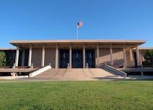 cal图书馆northridge州立大学 免版税库存照片