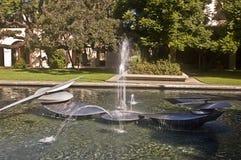 cal техника фонтана Стоковые Фото