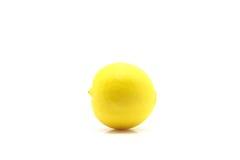 Cal amarelo no fundo branco Foto de Stock Royalty Free