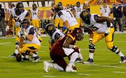 Cal Bears football Royalty Free Stock Photo