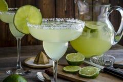 Cal clásica Margarita Drinks Foto de archivo